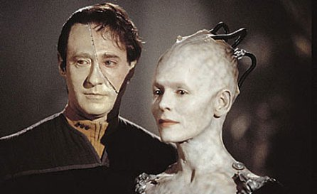 data and borg queen