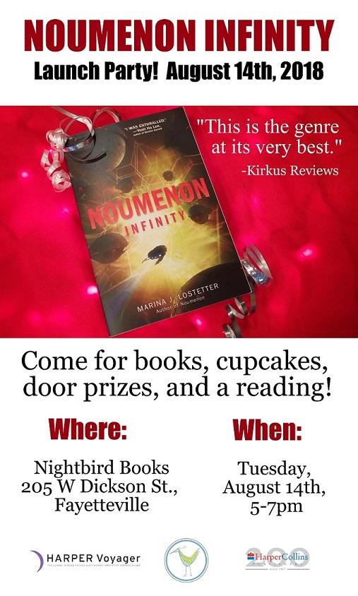 NOUMENON INFINITY Launch Party Invitation Prime small