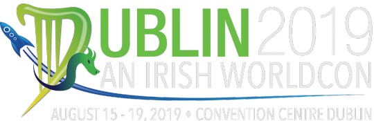 Dublin 2019 header. With convention dates and location, August 15-19, at the Convention Centre Dublin.