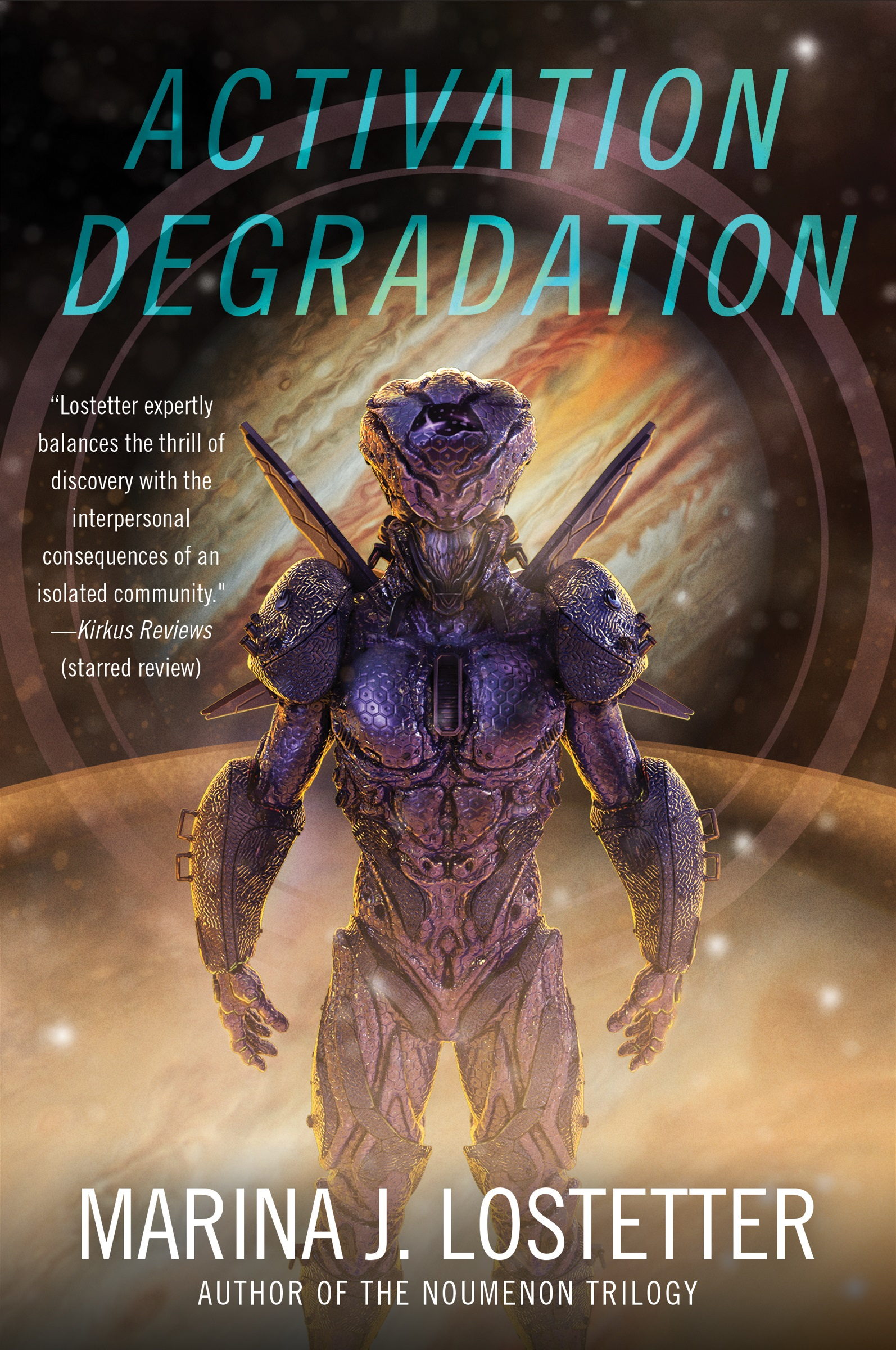 Cover for Marina's upcoming novel, Activation Degradation, releasing Sep 28th